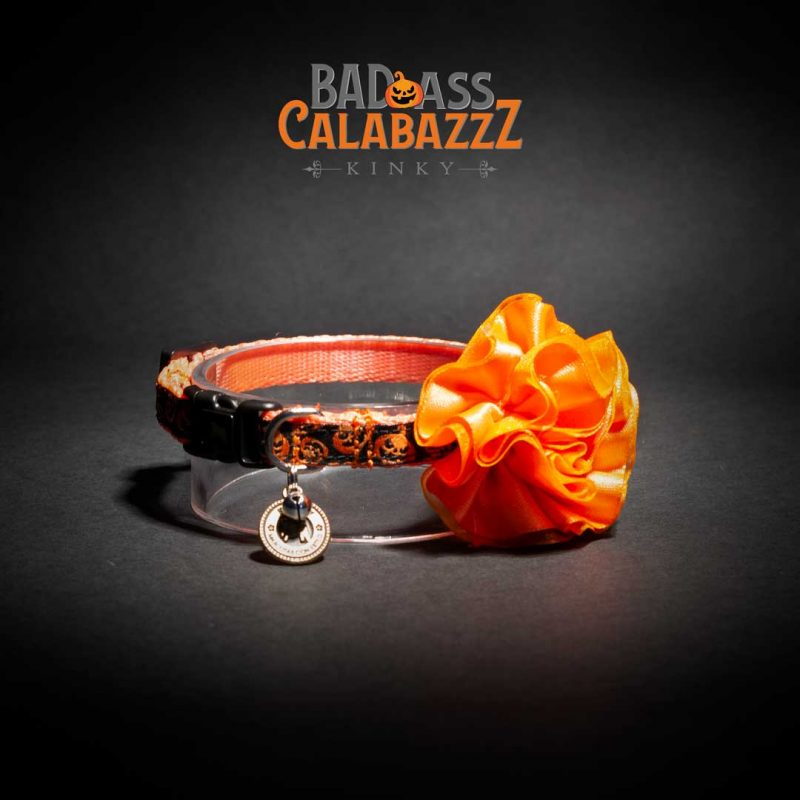 COLLAR MINI FLOR / CALABAZAS
